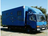 Horse Lorry 7.5t Mercedes