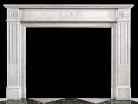 Antique French Marble Fireplace Surround