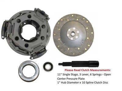 11 Clutch Kit Ford Tractor 3000 3300 3310 3400 3500 3600 3610 3910