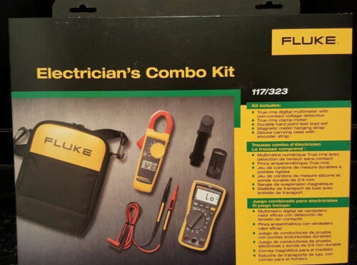 Fluke 117/323 Electricians Multimeter Combo Kit   **New in Box**    MSRP $295