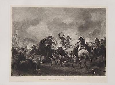 Philips Wouwerman Schlacht Reiter Musketier Muskete Pistole Dragoner Kavallerie