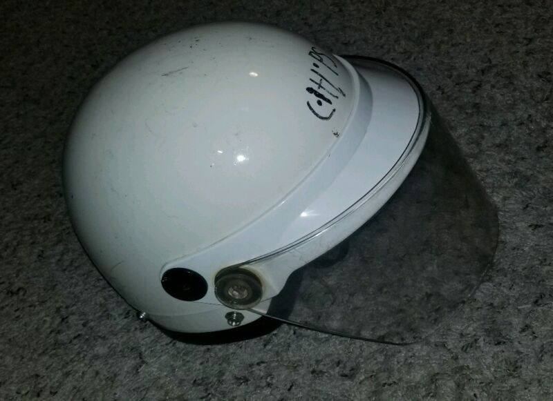 FREE SHIPPING FEDERAL SIGNAL CORPARATION VINTAGE HELMET TRAFFIC FIRE DEPARTMENT