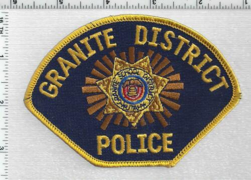Granite School District Police (Utah) 1st Issue Shoulder Patch