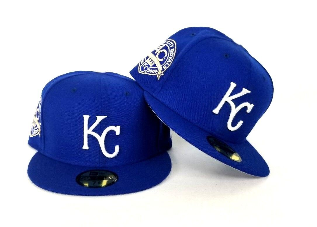 cheap for discount 7ff7b 6c8f9 New Era Royal Blue Kansas City Royals 59Fifty KC Fitted hat