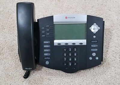 Polycom Soundpoint Ip650 Sip Voip Business Phone 2201-12630-001