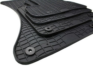 NEU Fußmatten Audi Q5 8R Gummimatten SQ5 Original Qualität S-Line Allwettermatte