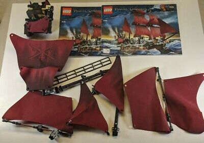 LEGO 4195  Pirates of the Caribbean Queen Anne's Revenge INCOMPLETE