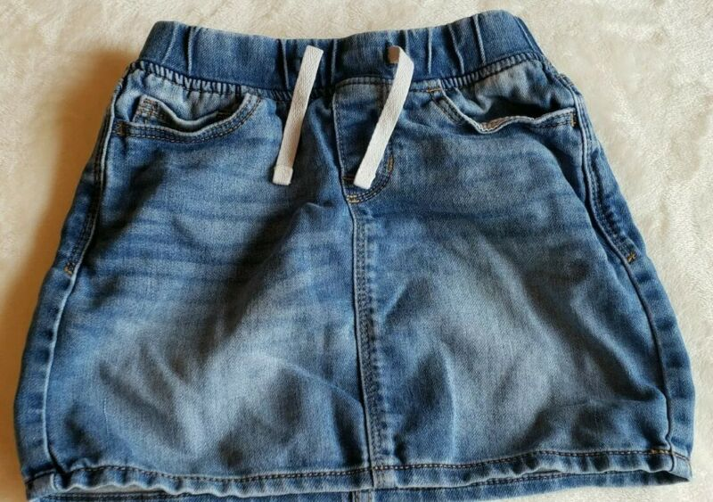 GAP Denim Jean Skirt Baby Girl Size Small Elastic Waist