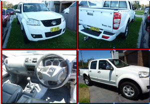 2012 GREAT WALL TURBO DIESEL LOW KLMS LONG REGO AS NEW NEW TIMING BELT Smithfield Parramatta Area Preview