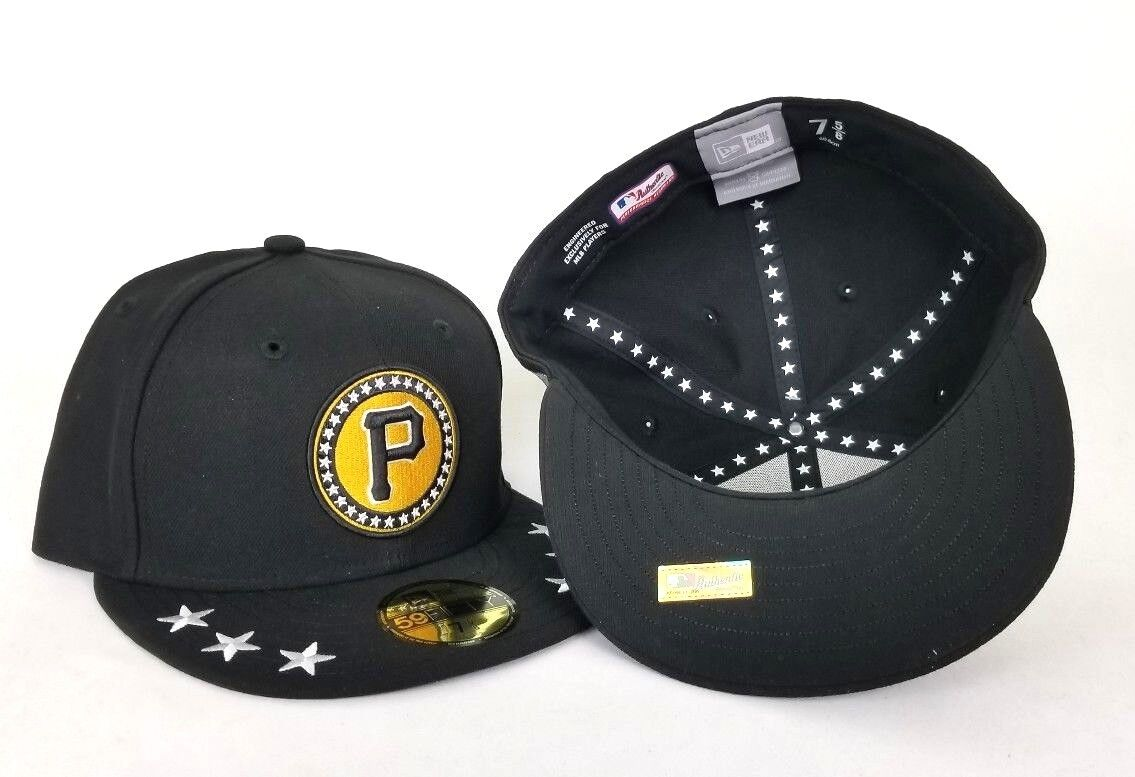 New Era New Pittsburgh Pirates All Star Game Black 59fifty Fitted Hat. NEW  ARRIVAL ! 5b0f5f2a075d