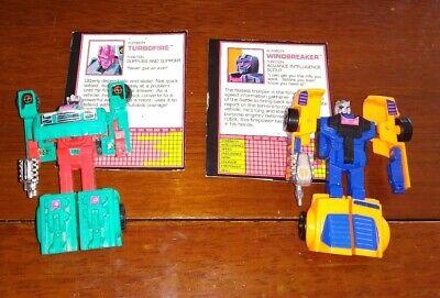 Transformers G2 Turbofire & Windbreaker