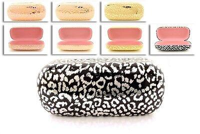 Protective Hard Case Box Cover Sunglasses Eyeglasses In Leopard Prints For (Sunglasses Hard Case For Women)