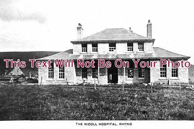 SC 1198 - The Nicoll Hospital, Rhynie, Aberdeenshire, Scotland