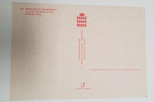 Postcard - monte carlo port  - lot 400