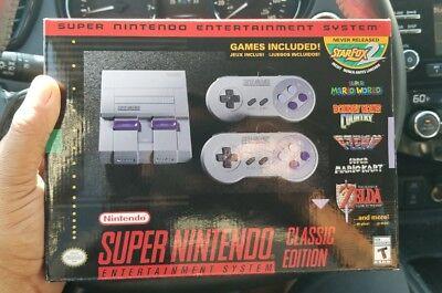 SNES Masterpiece Mini Edition - Super Nintendo Entertainment System - Brand New! FS