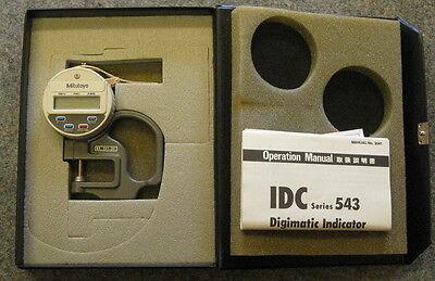 Mitutoyo Digimatic Indicator IDC 543