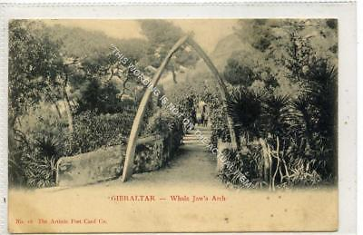 (Gb1164-477) Whale Jaw's Arch, Gibraltar 1905 VG