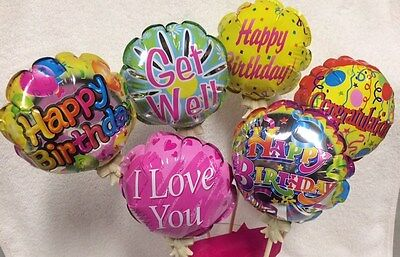 Self Inflating Balloons (2 Pack Self Inflating Greeting Balloons Birthday Congrats Get Well & More)