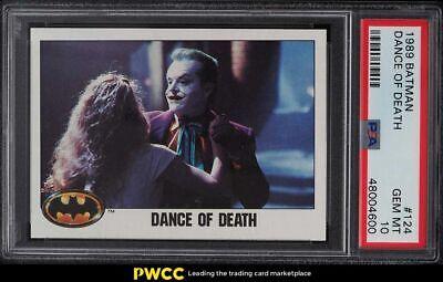 1989 Topps Batman Dance Of Death 124 PSA 10 GEM MINT - $29.00