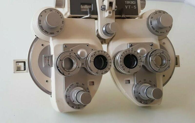 Takagi Seiko Manual Phoroptor Refractor Optometry Optical View Tester -Cylinder