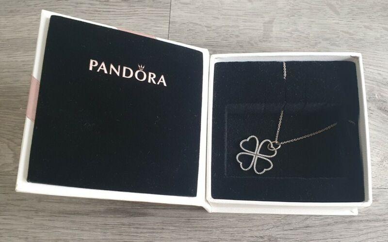 Pandora Petals of Love Necklace - 90CM in Pandora jewellery box