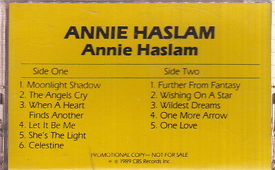 annie haslam limited edition cassette the shirts on Rummage
