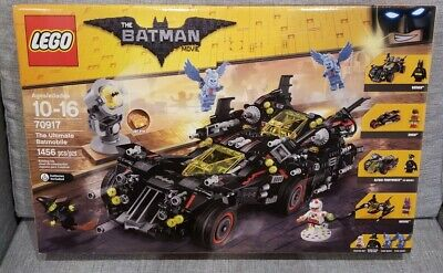 Lego Batman Movie The Ultimate Batmobile - 70917 Brand New Sealed