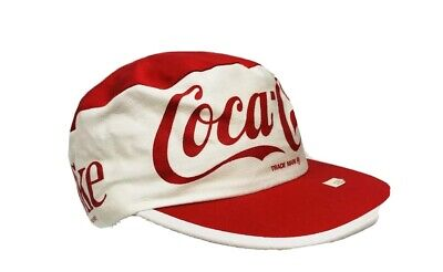 Vintage COCA COLA Painters Cap  NWT HAT USA Stretch Fit One Size