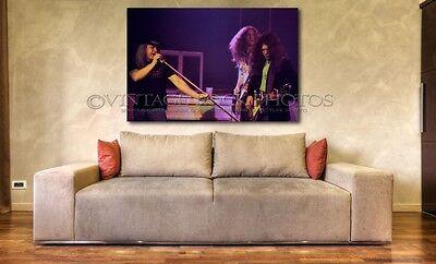 Lynyrd Skynyrd Poster Size Photo 20x30 inch 1976 Vintage Live Concert Print 1