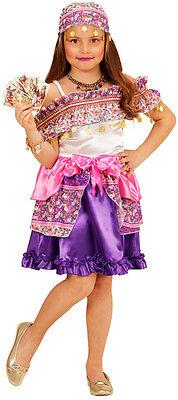 Gipsy Girl Zigeunerin Kinderkostüm NEU - Mädchen Karneval Fasching Verkleidung - Gipsy Kostüm Kinder