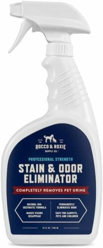 Rocco & Roxie Supply Professional Strength Stain and Odor Eliminator, Enzyme-Pow
