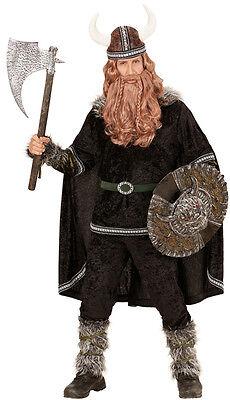Thoralf Krieger Wikinger Kostüm NEU - Herren Karneval Fasching Verkleidung -