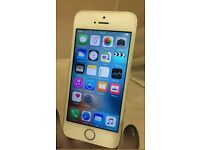 APPLE IPHONE 5S SILVER BRAND NEW SCREEN WITH 6 MONTH WARRANTY