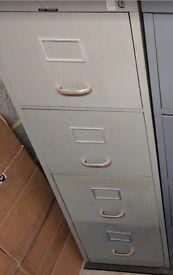 Metal Filing Cabinet (4 Drawer)