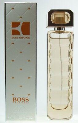 Orange Spray Duft (Hugo Boss Boss Orange Women Eau de Toilette Spray 75 ml EDT Woman Duft Femme NEU)
