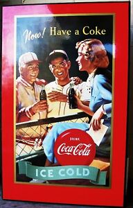 Have a Coke sign, indoor.