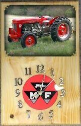 Massey Ferguson 35 Deluxe Diesel Wall Clock