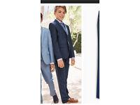 Next toddler suit & H&M shirt tie