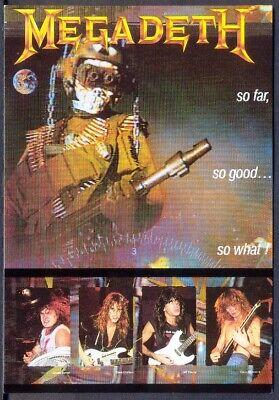 Modern Postcard: MEGADETH (Underground, 413) Free UK Postage