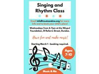 CALLING ALL SINGERS - KIDS WEDNESDAY MUSIC CLASSES