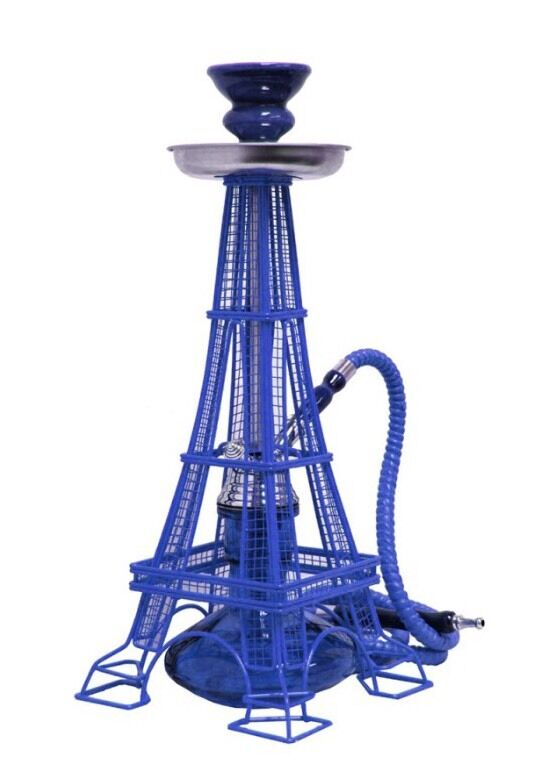 INHALE(R) PATENTED ORIGINAL EIFFEL TOWER HOOKAH . 17 INCH 1 HOSE