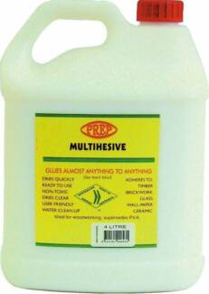 Glue Adhesive Multipurpose 4 litres Revesby Bankstown Area Preview