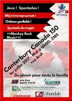 Canterbury Canada Day 150 Festival!