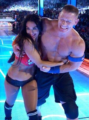 Nikki Bella   John Cena Wwe Photo 4X6 8X10  Select Size   04