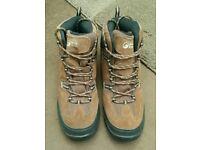 Unused men's size 9 North Ridge Bexhill Waterproof mid height walking hiking trail boots