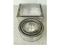 Invicta Selection of Round & Square Cake Tins