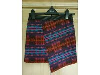 *BRAND NEW* Topshop Wrap-over Mini Skirt