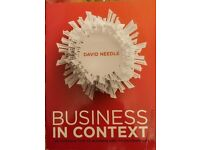 Business in context by David Needle sixth edition