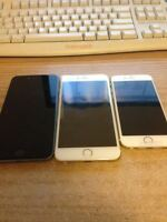 Factory unlocked iPhone 6 and 6 plus 128GB under warranty
