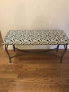 Newly Re-upholstered Bench